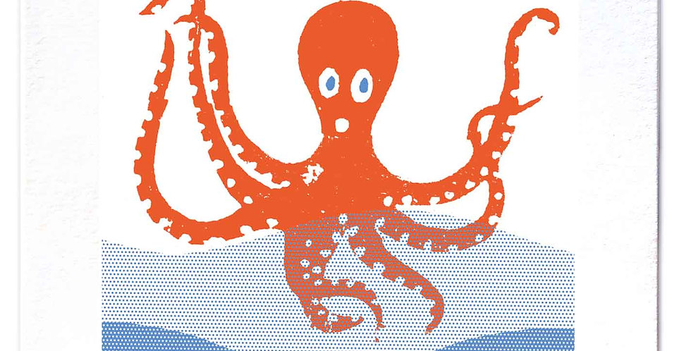 Octopus Large Card
