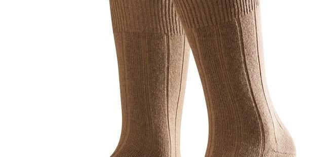 Brown Cashmere Blend Socks