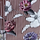 Thumbnail: Burgundy Stripe & Floral Shirt