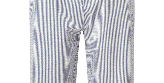 Blue & White Seersucker Shorts