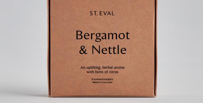 Bergamot & Nettle T-Lights