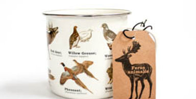 Enamel Wild Animals Mug