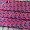 Thumbnail: Silk Pink With Blue Flamingos Face Mask