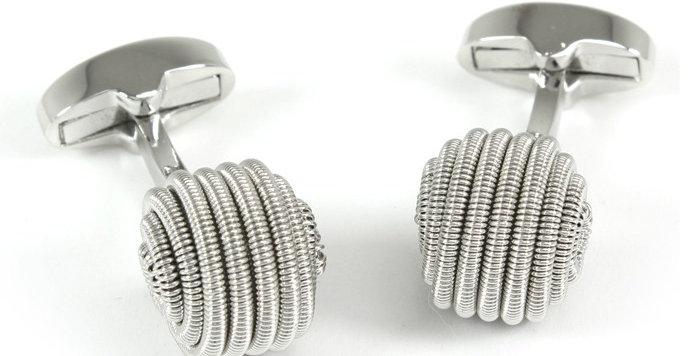 Spiral Ball Cufflinks