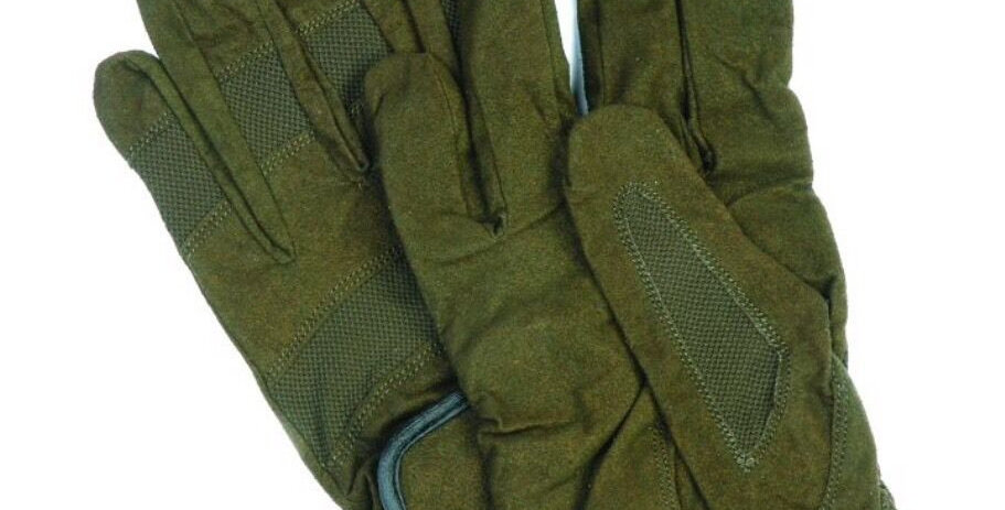Green Thin Country Gloves
