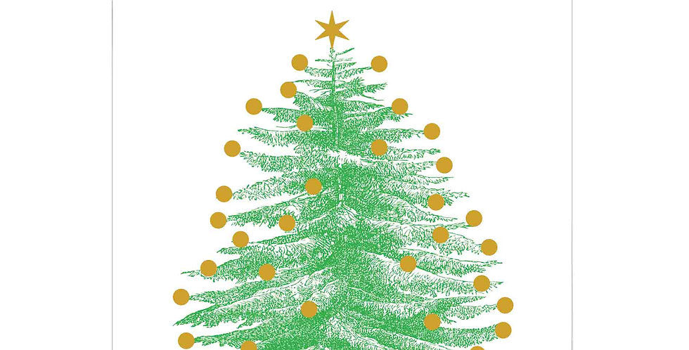 Christmas Tree Long Matches