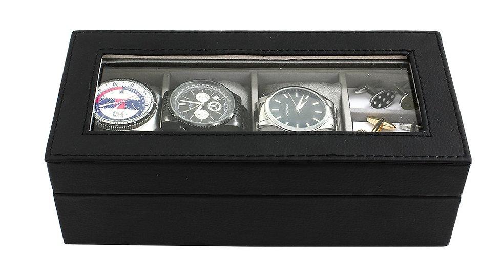 Black Watch & Cufflink Box