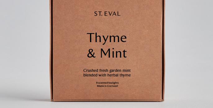 Thyme & Mint T-Lights