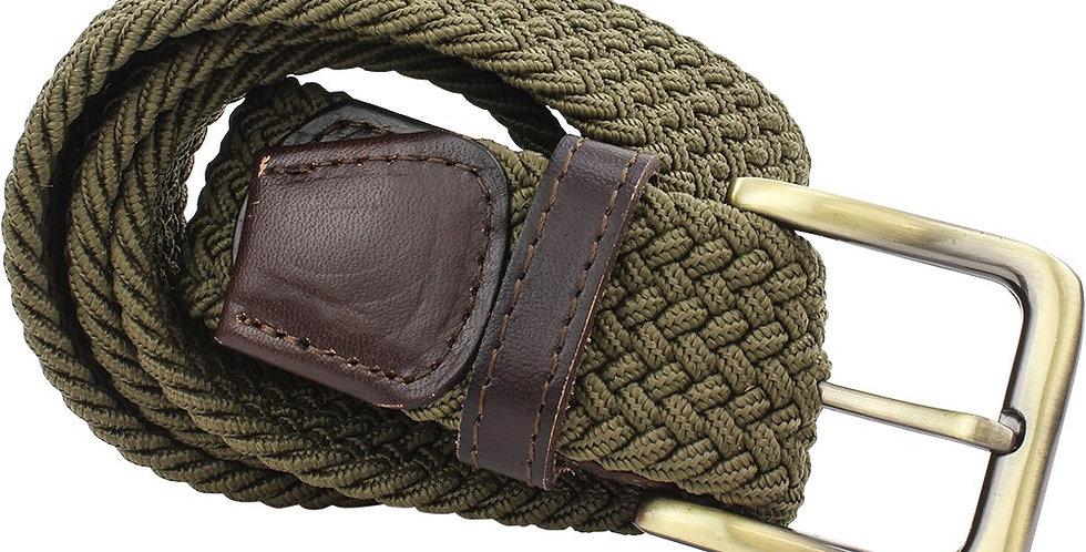 Khaki Woven Belt