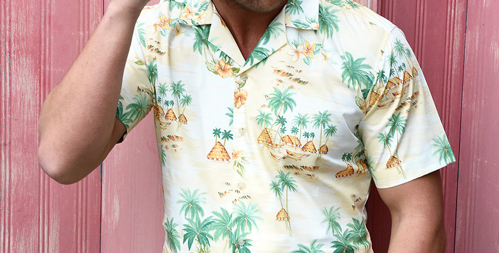 Hawaiian Resort Short Sleeve Shirt