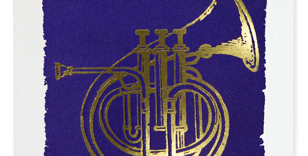 Horn Note Card