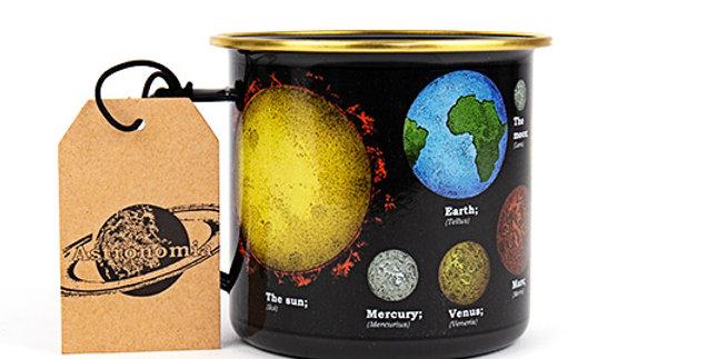 Space Enamel Mug