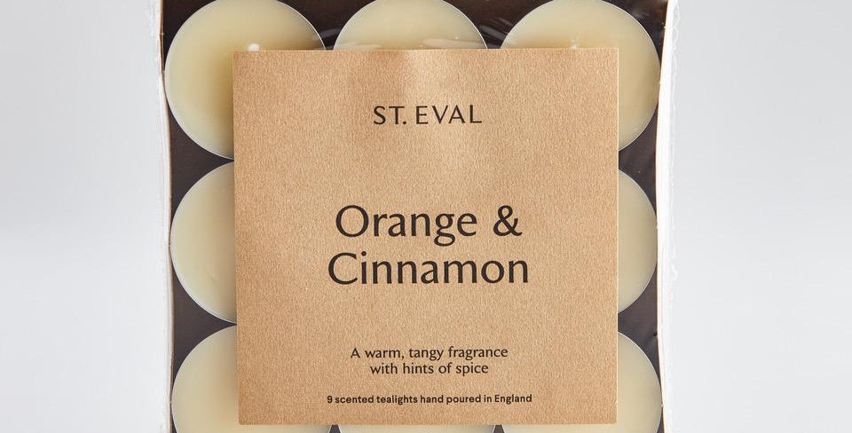 Orange & Cinnamon T-Lights