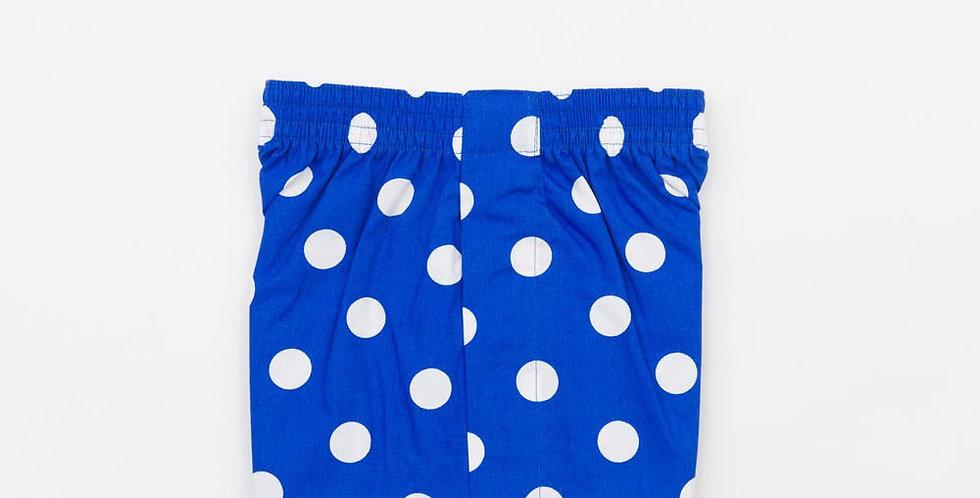 Royal Blue Circle Boxers
