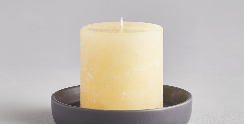 Dark Grey Candle Plate, Small