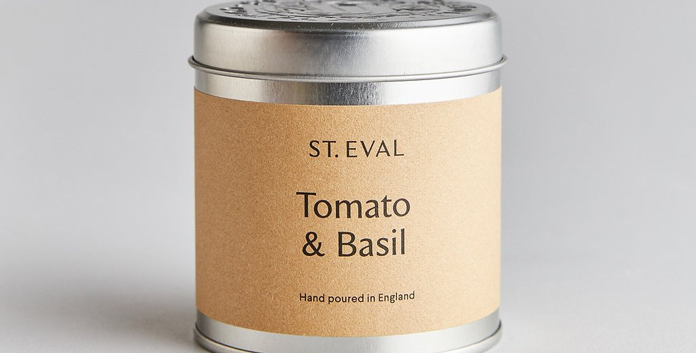Tomato & Basil Tin Candle
