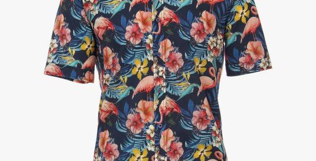 Flamingo Short Sleeve Shirt