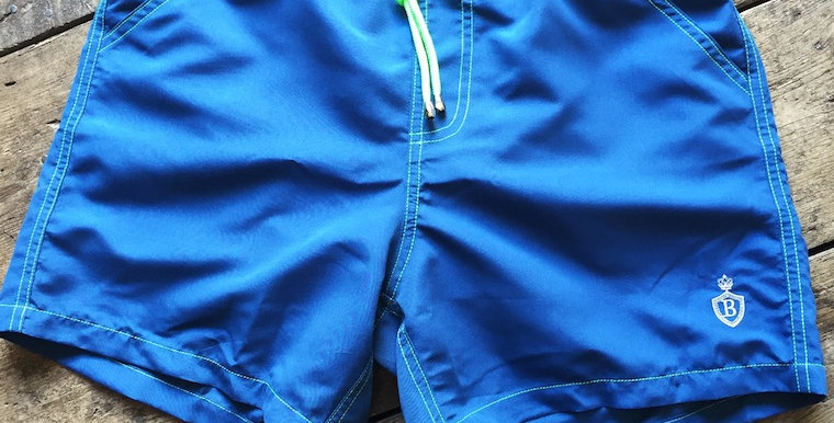 Teal Swimming Shorts