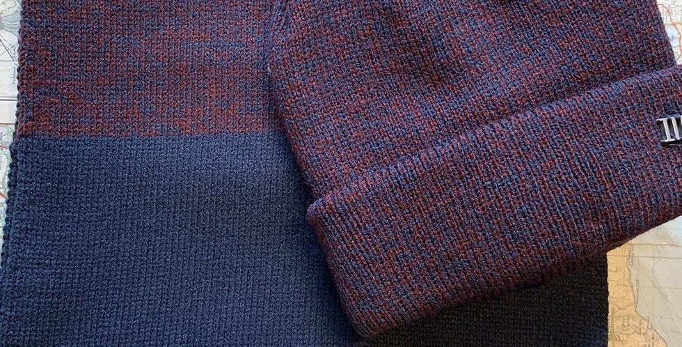 Set-Fine Knitted Scarf & Beanie
