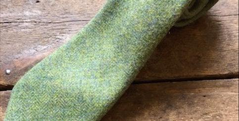 Pistachio Tweed Tie