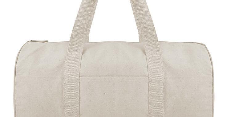 Natural Barrel Bag