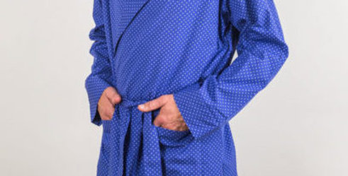 Blue Spots Dressing Gowns