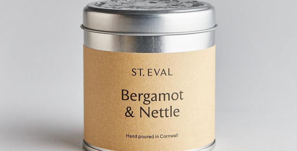Bergamot & Nettle Tin Candle