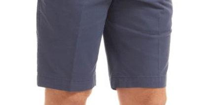 Mid Blue Chino Shorts