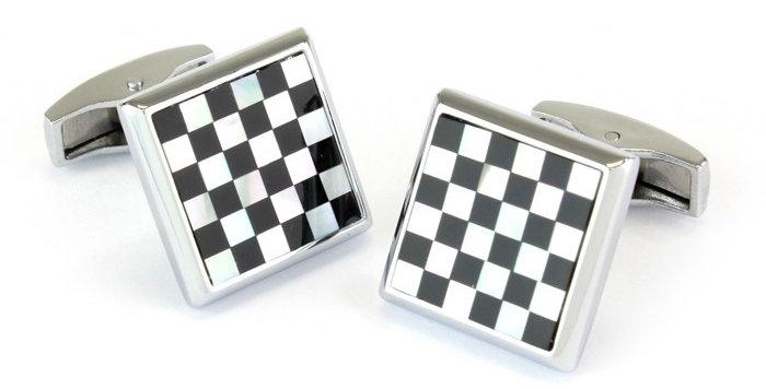 Chequer Board Cufflinks