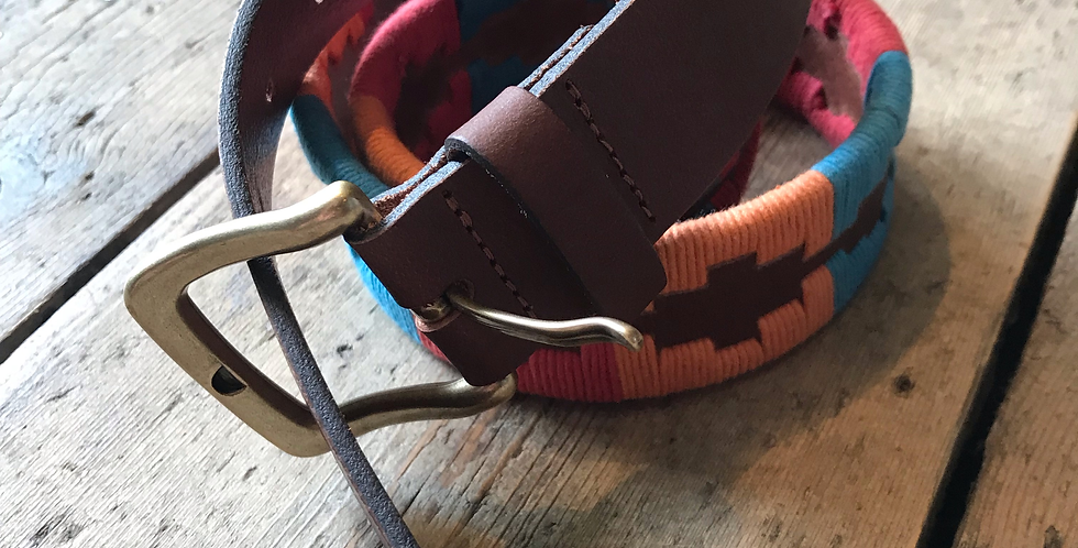 Red 'Polo' Belt