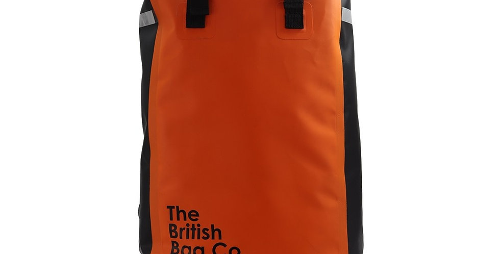 Orange Dry Bag Rucksack