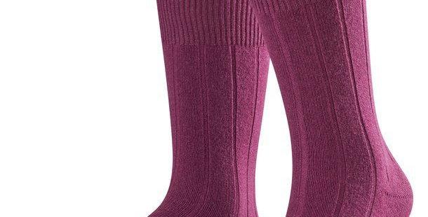 Purple Cashmere Blend Socks