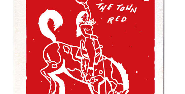 Paint The Town Red Large Card