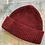 Thumbnail: Dark Red Wool Fisherman Beanie