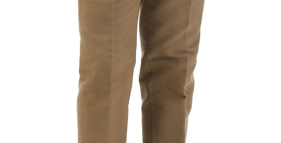 Khaki Moleskin Trousers