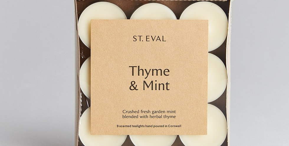 Thyme & Mint T-Lights