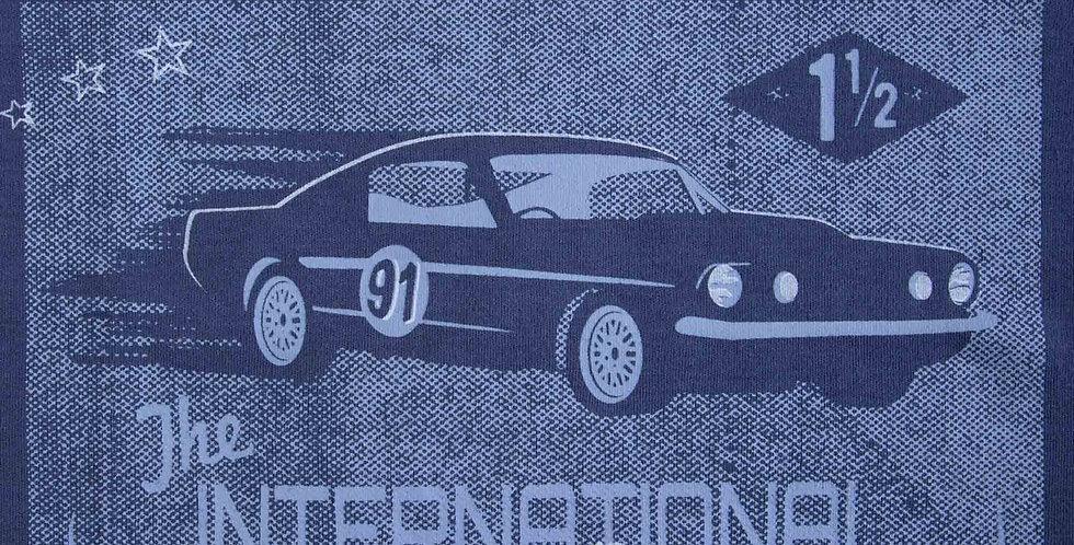 Blue Car Design Thick T-Shirt