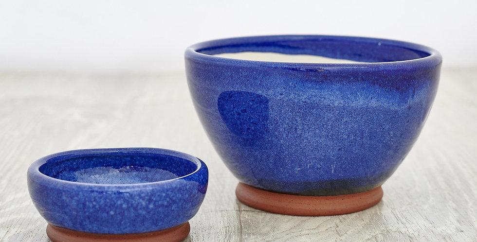 Blue Olive &Stone Bowl Set