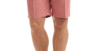 Salmon Chino Shorts