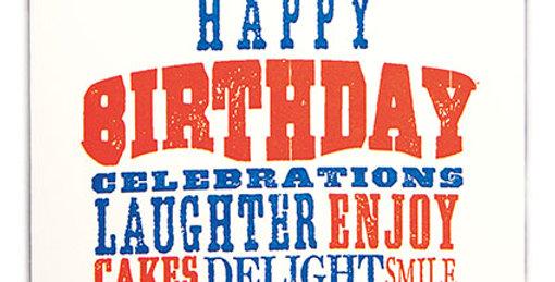 Birthday Celebrations Note Card