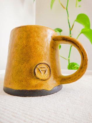 Volcano Mug in Green