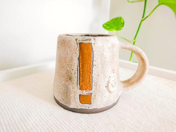Volcano Mug in White No. 2