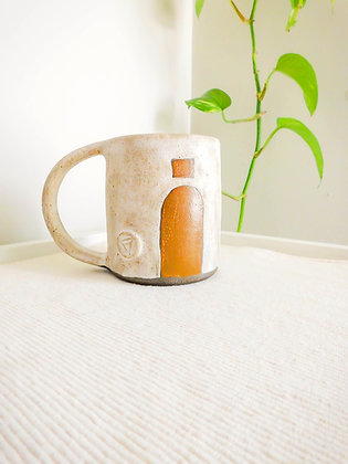 The Coffee Mug in White No. 1