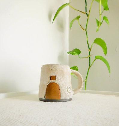 Volcano Mug in White No. 3