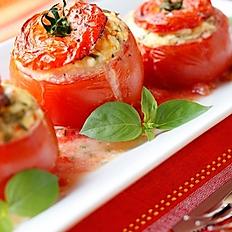 Mahashi mit tomaten