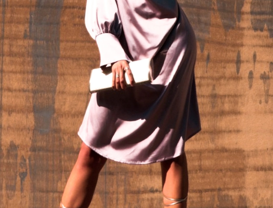 Vestido Mauve Midi