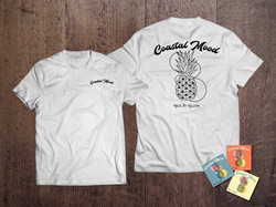 Coastal Mood White T-Shirt