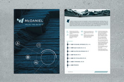 Brochure Cover & Table of Contents
