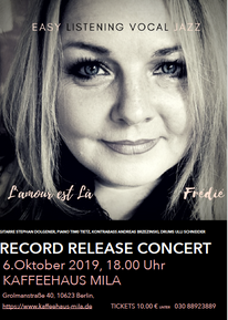 RECORD RELEASE CONCERT