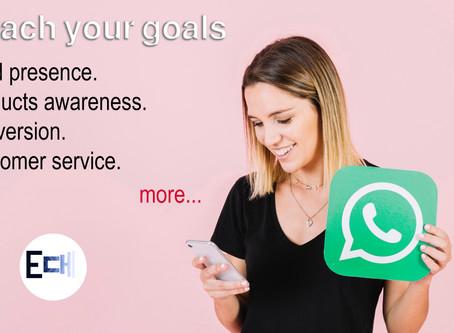 تطبيق WhatsApp قد يصحب عملاءك طوال رحلة الشراء كاملة